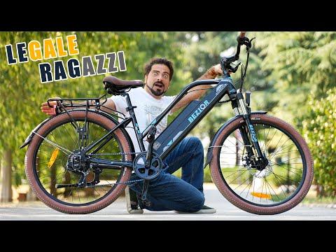Bici Elettrica a pedalata assistita Bezi …
