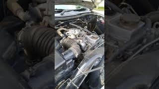 Garing nya suara mesin diesel mitsubishi triton