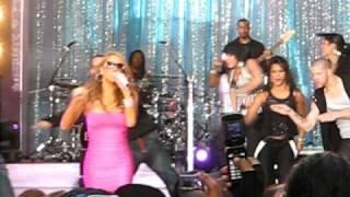 "Mariah Carey ""Touch My Body"" LIVE E=MC2 at GMA 4-25-08"