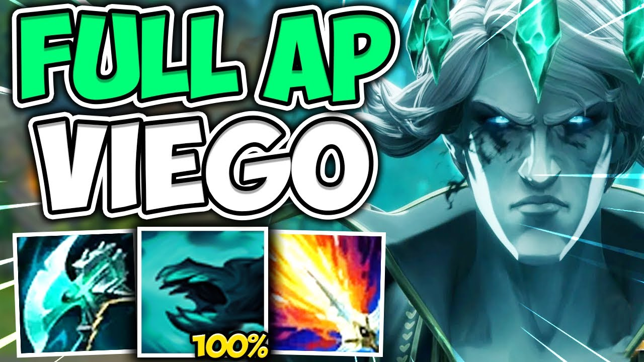 TC Zwag - WTF?! VIEGO W ABILITY SCALES 100% WITH AP! ONE SHOT ENEMIES FROM FULL HP - League of Legends