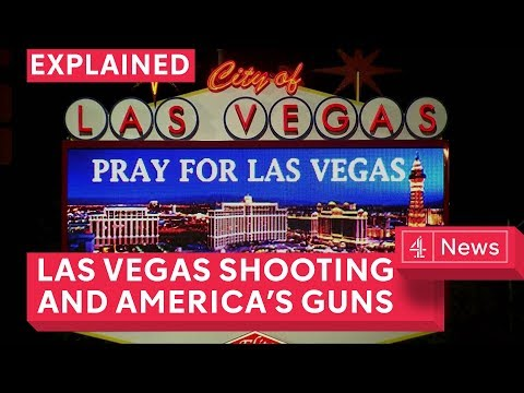 The Las Vegas shooting and America's relationship with guns explained