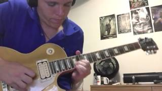 Hallowed Be Thy Name - Iron Maiden solos