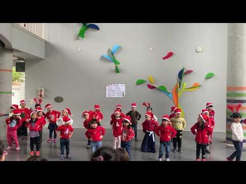 108學年度聖誕節表演:歡喜聖誕節