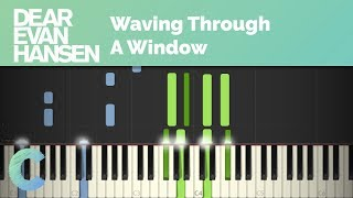 Dear Evan Hansen - Waving Through A Window Piano Tutorial