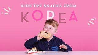 Korean Snacks   Kids Try   HiHo Kids