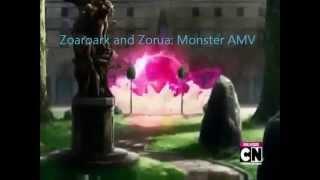 Pokémon AMV:Zoroark and Zorua-Monster (Meg and Dia Remix)