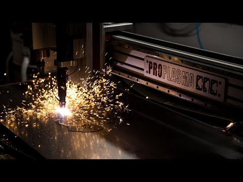 Plasma Cutting a Tested Logo Sign!