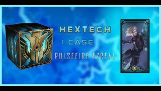 HEXTECH CASE | 1 CASE = PULSEFIRE EZ | Macar o data in viata sa am noroc intr-un joc
