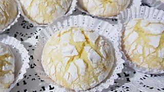 مشقوق بذوق الليمون اقتصادي بزوج بيضات تحصلت على كمية كبيرة من الحبات 🍋فرحي بيه العايلة لقهوة لعشية