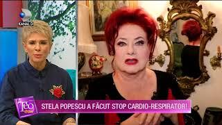 Teo Show (23.11.2017) - Stela Popescu a murit!