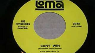 The Invincibles - Can't Win