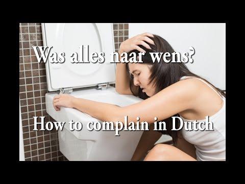 How to Complain in Dutch (Was alles naar wens?) photo