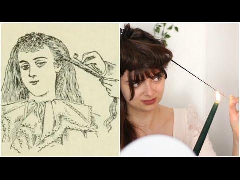 I Tried Victorian Hair Singeing 🔥