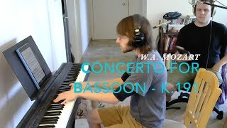 Whistling Mozart's Concerto for Bassoon - 3rd Mvmt.