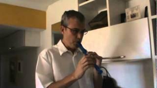 Hino do Grêmio - flauta doce