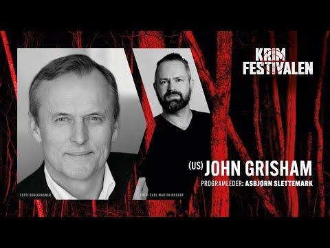 Møte med thriller-mesteren John Grisham