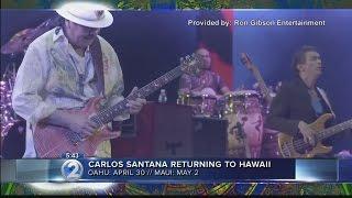 Guitarist Carlos Santana brings Transmogrify tour to Hawaii
