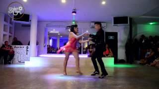 Izmael y Montse Fin de Curso Rumba Latina