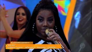 Ludmilla levanta a plateia do Legendários