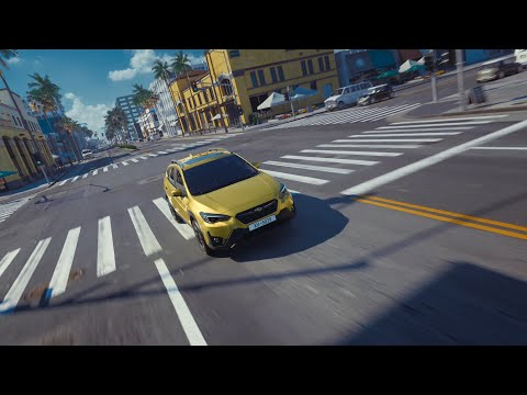 "2021MY SUBARU XV Promotional Video ""Urban Playground"" (15 sec.)"