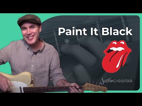 365 de Paint It Black Letra y Video