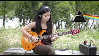 Comfortably Numb - Pink Floyd - Guitar Solo Cover - Federica Golisano