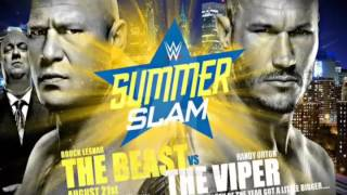 WWE SummerSlam 4th Official theme Back To NYC
