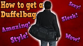 GTA online glitches - How to get the Duffel bag