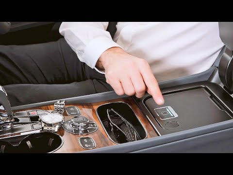Bentley Bentayga Biometric Storage