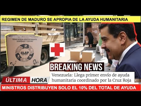 Maduro se apropia de la ayuda humanitaria
