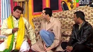 Best Of Zafri Khan and Tahir Anjum New Pakistani Stage Drama Full Comedy Funny Clip width=
