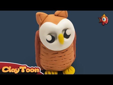 Owl, Polymer clay tutorial | بومة, تشكيل صلصال