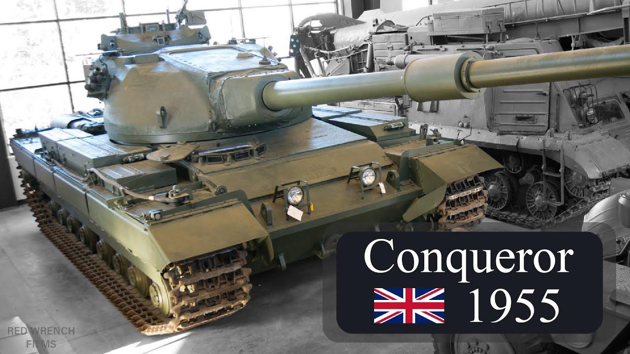 Conqueror | The Last British Heavy Tank