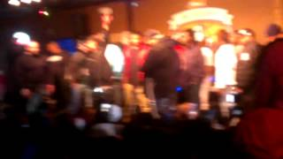 Kushman Ballin Cut'n Up in VIP while Que perform