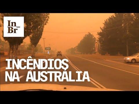 Diário do Apocalipse -   A fuga dos incêndios na Austrália