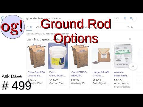 Ground Rod Options (#499)