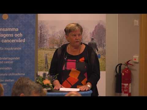 Seminarium 1 från Cancerdagen i Almedalen 2019: Kortare väntetider i cancervården