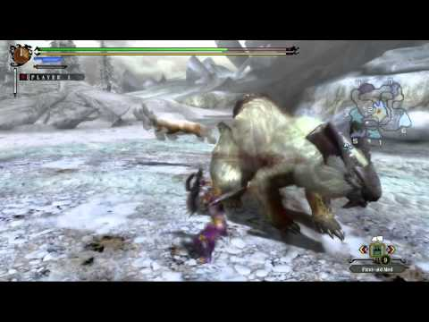 Monster Hunter 3 Ultimate Wii U :: Lagombi (Demo version)