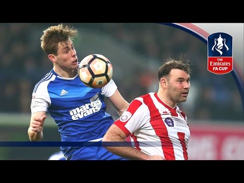 Ipswich Town 2-2 Lincoln City - Emirates FA Cup 2016/17 (R3) | Goals & Highlights