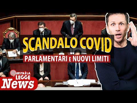 SCANDALO COVID: parlamentari e nuovi limiti   Avv. Angelo Greco