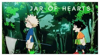 「AMV」midoriya + bakugo | jar of hearts