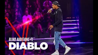"Diablo ""Baby"" - Blind Auditions #1 - TVOI 2019"