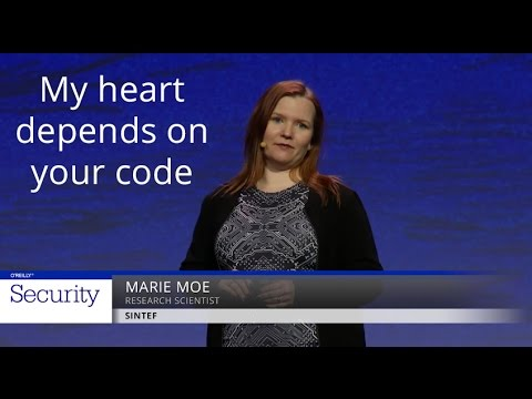 My heart depends on your code - Marie Moe (SINTEF)