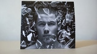 Nick Jonas - Last Year Was Complicated (Deluxe Edition) (Unboxing)