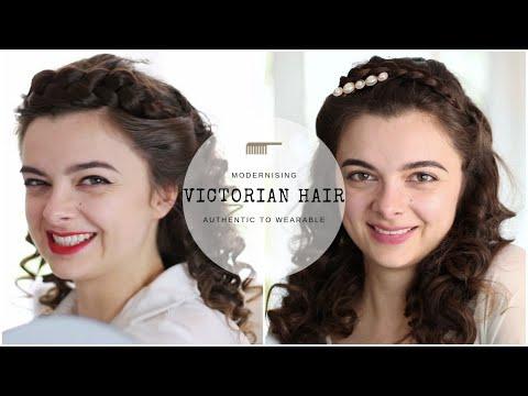 Making Victorian Hair Wearable   Hair Tutorial