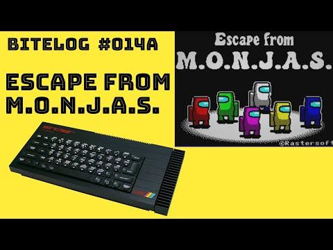 Escape from M.O.N.J.A.S. (ZX SPECTRUM) [BITELOG 014A] WALKTHROUGH
