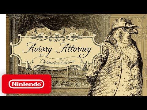 Aviary Attorney - Launch Trailer - Nintendo Switch