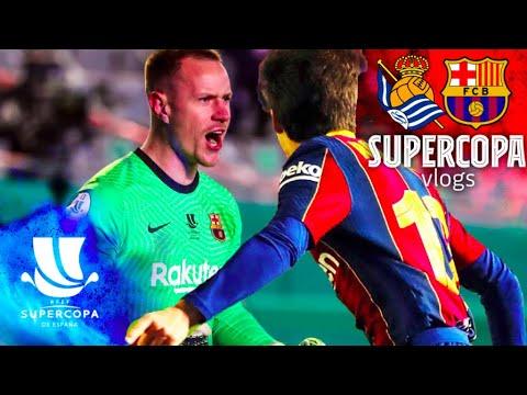 😱💥 INSANE PENALTY SHOOT OUT REACTION FROM CÓRDOBA | SUPERCOPA VLOG (Real Sociedad 1-1 FC Barcelona)