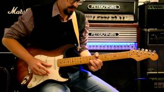 Jeff Beck - What God Wants Part 3 Solo Cover
