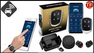 Ativando o alarme do carro pelo celular , alarme Px360bt da Pósitron
